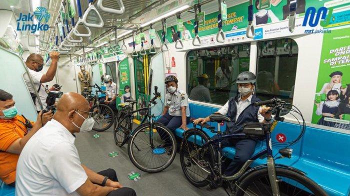 Dirut MRT Jakarta Ungkap Dampak Negatif Penerapan PPKM pada Jumlah Penumpang yang Turun 80 Persen