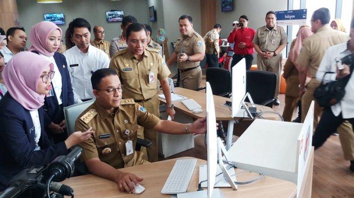 Anies Resmikan Jakarta Investment Center, Janjikan Permudah Investasi