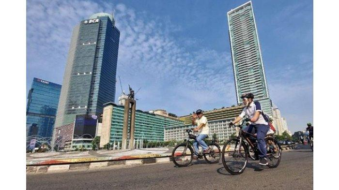 Masa Pandemi Corona Pengguna Sepeda di Jakarta Naik 10 Kali Lipat, Anies Tambahkan Jalur Khusus