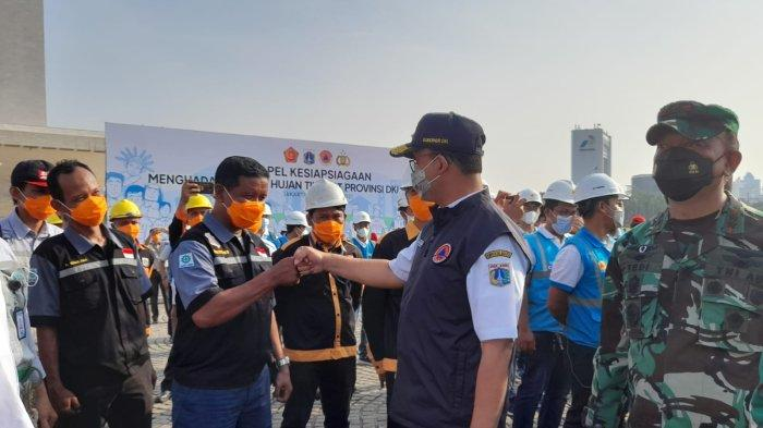 Anies Sebut Sulit Prediksi Pola Hujan, Pemperov DKI Sudah Siapkan 267 Alat Ukur Curah Hujan