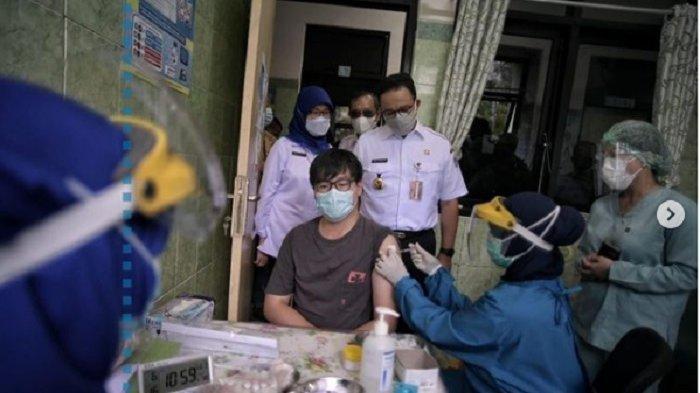 Anies Targetkan 100.000 Orang per Hari, Ini Cara Daftar Vaksinasi Covid-19 di Jakarta