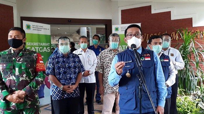Gubernur Jawa Barat Ridwan Kamil Imbau Masyarakat Jangan Berpergian Jauh Dulu dan Hindari Kerumunan