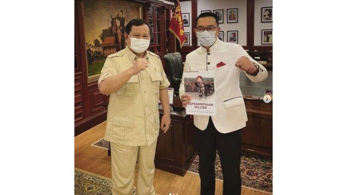 Bertemu Prabowo di Sukabumi, Bahas Pilpres 2024? Ini Jawaban Ridwan Kamil