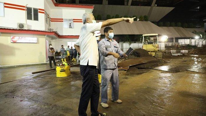 Kantor Gubernur Jawa Tengah Ganjar Pranowo Kebanjiran, Langsung Surut Dalam 1,5 Jam