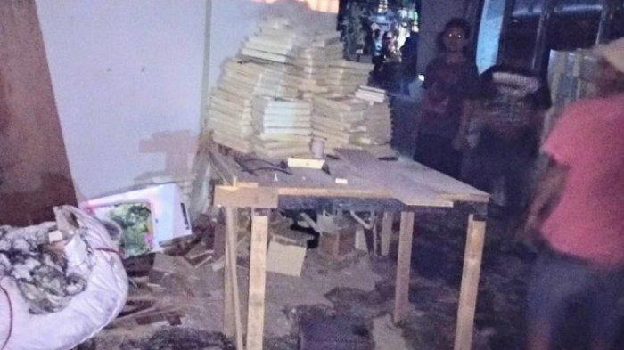 Gudang Pelebur Styrofoam di Kota Depok Terbakar, Dua Satpam Berhasil Diselamatkan