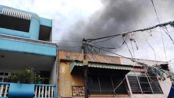 Gudang Sembako di Pasar Baru Bekasi Terbakar, Kerugian Ditaksir Miliaran Rupiah
