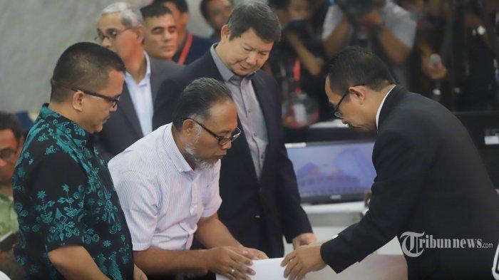 Ketua Tim Hukum BPN Bambang Widjojanto Mengeluhkan Jalanan di Sekitar MK yang Ditutup Polisi