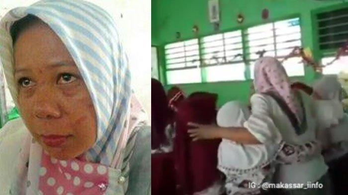 Guru SD Ini Jadi Tameng dan Rela Dipukuli Orang Tua Siswa Demi Lindungi Muridnya
