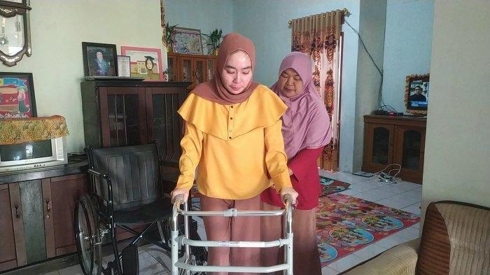 Kondisi Terkini Guru Susan yang Lumpuh Setelah Vaksin Covid19, Tetap Ingin Ketemu Jokowi