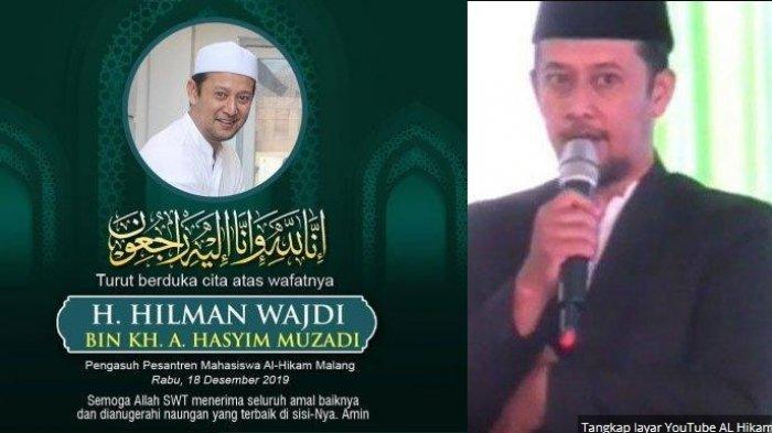 Gus Hilman, Putra Ketiga Alm Hasyim Muzadi yang Alami Musibah di Tol, Akan Dimakamkan di Malang
