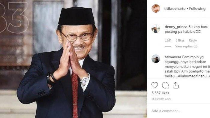Hanung Bramantyo Ceritakan Percakapannya dengan BJ Habibie, 2 Bulan Sebelum Meninggal