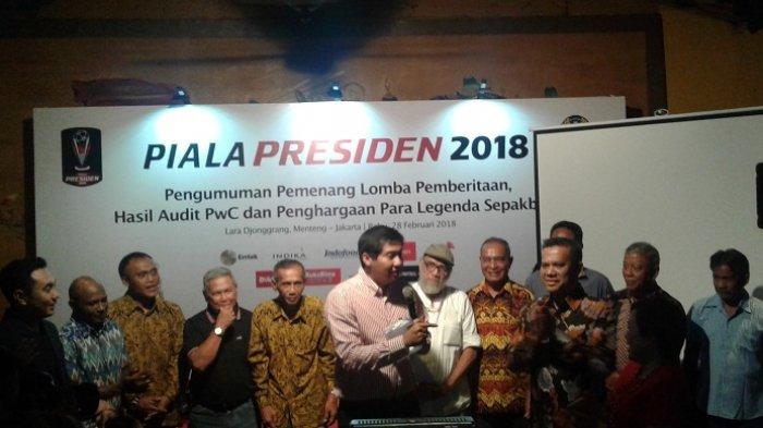 Hadiah Juara Piala Presiden 2019 Musim Depan Akan Naik