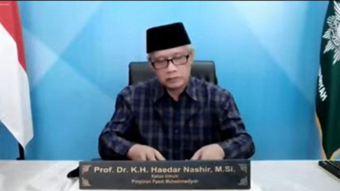 Ketua Umum PP Muhammadiyah Haedar Nashir Perbolehkan Pasien OTG dan Nakes tak Berpuasa saat Ramadan