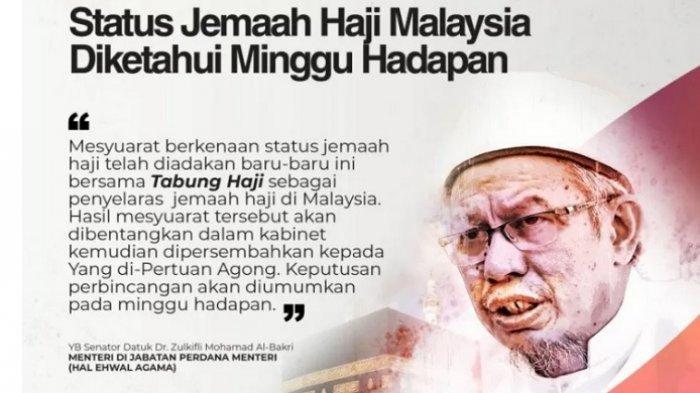 Berbeda dengan Indonesia, Malaysia Pilih Tunggu Arab Saudi tentang Keberangkatan Haji 2020