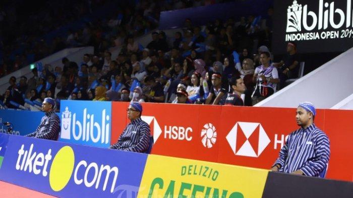 Indonesia Open 2019, Hakim Garis dan Wasit Sepakat Pakai Batik dan Lurik Khusus di Semi dan Final