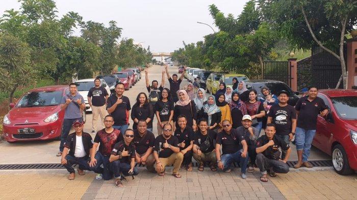 Klub Mitsubishi Mirage, IMEC Chapter Bekasi Gelar Anniversary ke-6, Ada Lomba Unik Hingga Doorprize