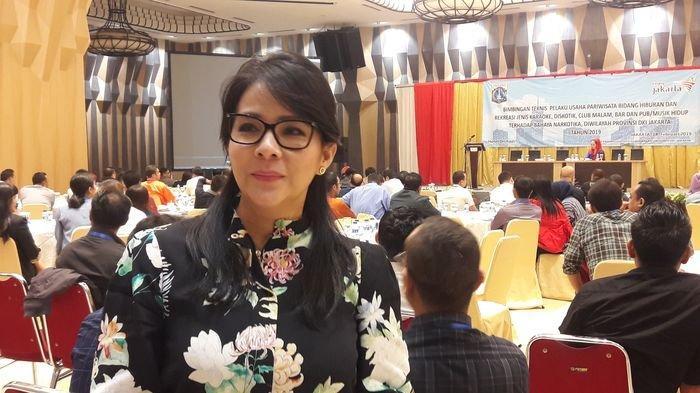 Ketua Asosiasi Pengusaha Hiburan Jakarta (Aspija) Hana Suryani.