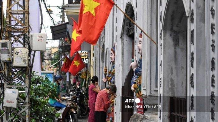 Vietnam Alami Lonjakan Kasus Covid-19, Ibu Kota Hanoi Di-lockdown Lagi