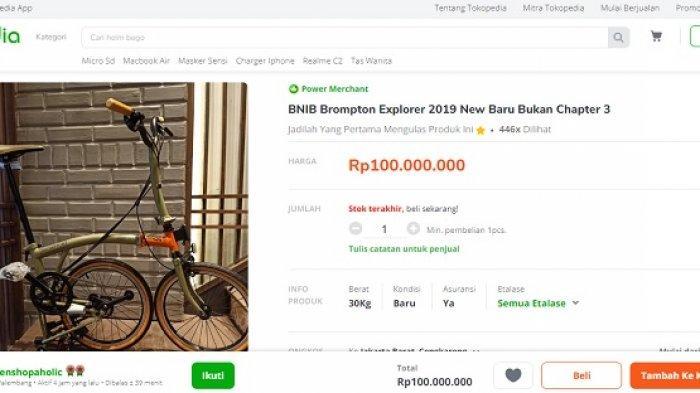 Klarifikasi Bea Cukai terkait Temuan Sepeda Brompton di Penerbangan Sri Mulyani dari Amerika Serikat