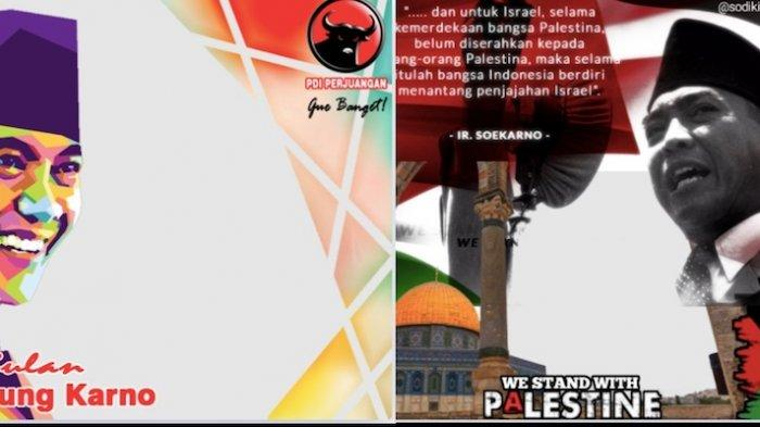 Kumpulan Twibbon Ucapan Selamat Hari Ulang Tahun Soekarno dan Kalimat Penyemangat