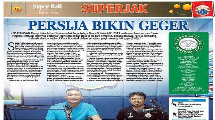 Persija Jakarta Hebohkan Pendukung karena Diundang Wawancara Radio di Filipina