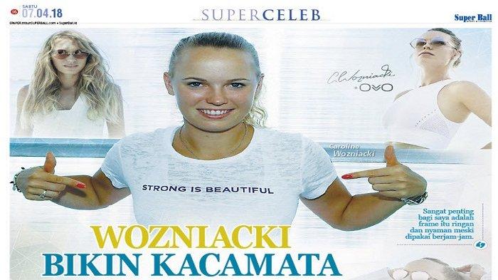 Caroline Wozniacki Gandeng Ovvo Optics Bikin Kacamata
