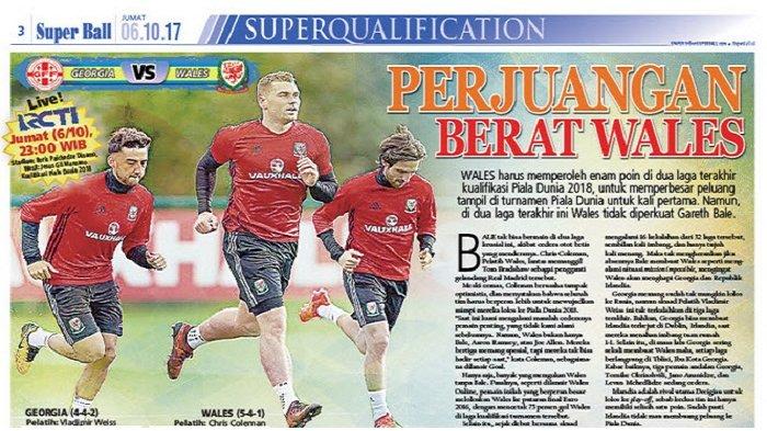 Perjuangan Timnas Wales Kian Berat Tanpa Gareth Bale
