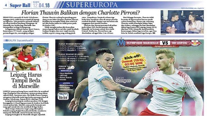 Rudi Garcia Optimistis Lolos ke Semifinal Liga Europa