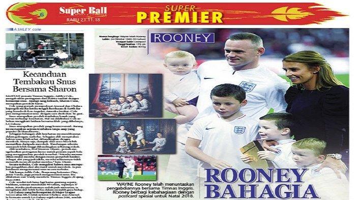 Wayne Rooney Berbahagi Kebahagiaan Melalui Kartu Natal