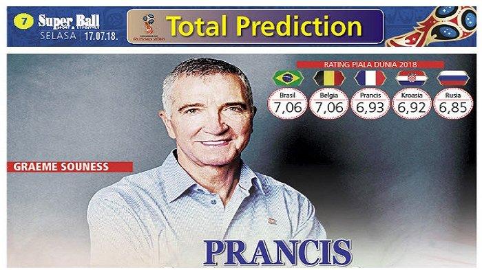 Pesona Prancis Mampu Geser Brasil dalam Bursa Prediksi