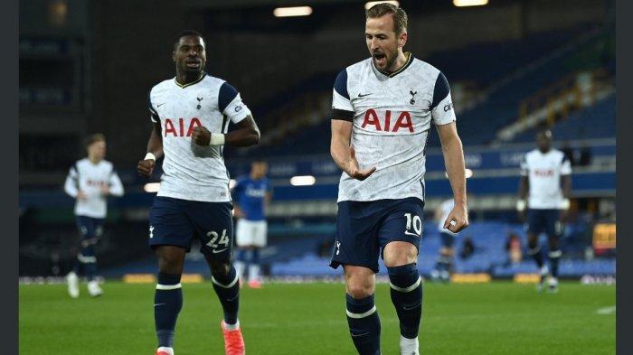 Harry Kane Selamatkan Tottenham dari Kekalahan lawan Everton 2-2 dan Menjadi Topscorer Sementara