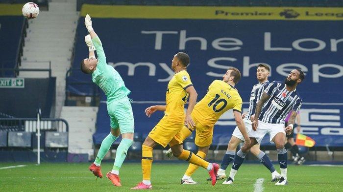 Albion 0-1 Tottenham Hotspur: Harry Kane Bantu Spurs Puncaki Klasemen Sementara