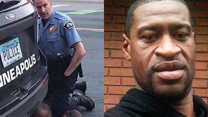 Hasil Autopsi George Floyd Positif Corona, Diduga OTG, Bagaimana Nasib 3 Polisi yang Menangkapnya?