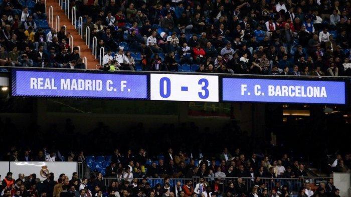 Rating Pemain El Clasico Real Madrid v Barcelona 0-3: Suarez Tertinggi, Ramos dan Nafas Terjeblok
