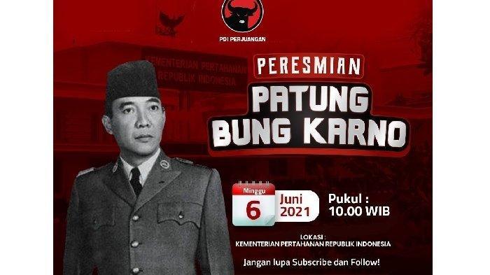 ULTAH Bung Karno 6 Juni, Ini Alasan Ir Soekarno Ganti Nama Jadi Sukarno, Siang Ini Patung Diresmikan