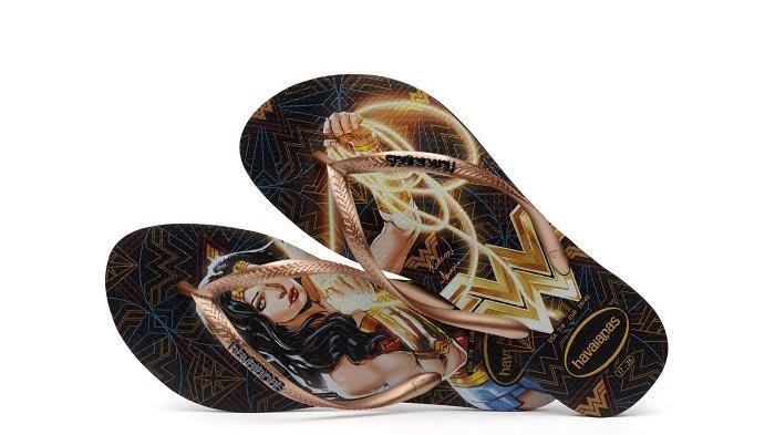 Havaianas Luncurkan Koleksi Sandal Terinspirasi Wonder Woman 1984