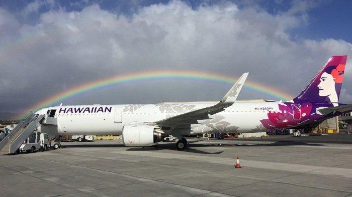 Pramugari Meninggal Dunia,Hawaiian Airlines Terpaksa Mendarat di San Francisco