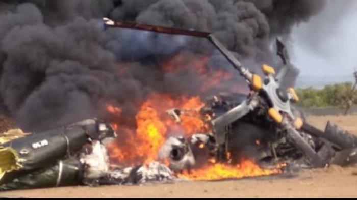 Helikopter MI-17 Jatuh di Kendal, Humas Lanumad Ahmad Yani: Kami Masih Berpikir Evakuasi