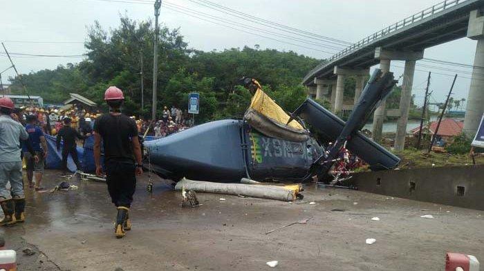 Baling-baling Helikopter yang Jatuh di Morowali Timpa Karyawan PT IMIP Hingga Meninggal