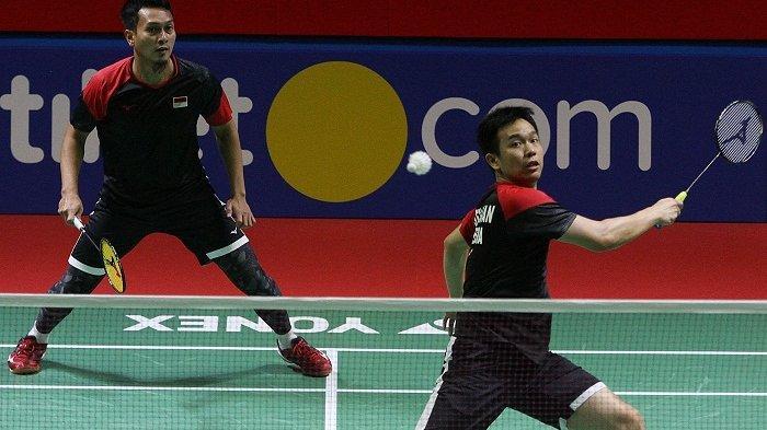 UPDATE Indonesia Open, Hendra/Ahsan ke Perempat Final, Gregoria Gagal Kalahkan Ratchanok Intanon