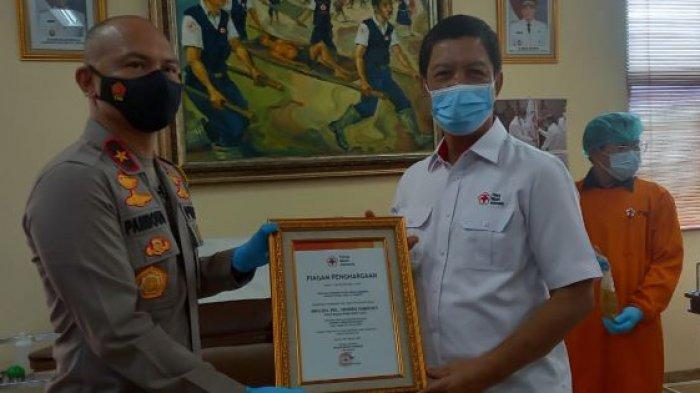 Bantu Tingkatkan Kesembuhan Pasien Covid-19, Wakil Kepala Polda Metro Jaya Donor Plasma Konvalesen