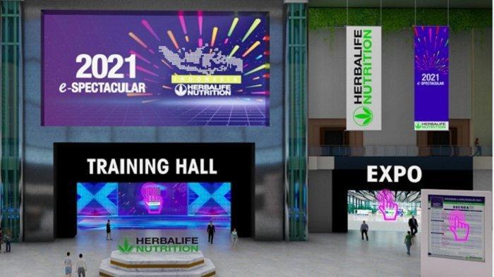 Herbalife Nutrition e-Spectacular 2021. Kegiatan ini merupakan yang ke-14 kalinya dan yang pertama digelar secara virtual.