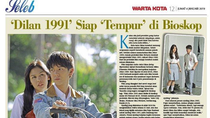 'Dilan 1991' Siap 'Tempur' di Bioskop