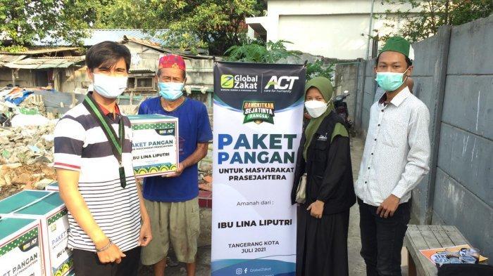 HMI Tangerang Raya dan ACT Bantu Warga Terdampak Penggusuran di Batuceper