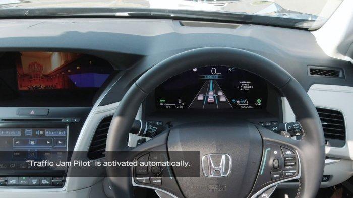 Interior mobil Honda terbaru.