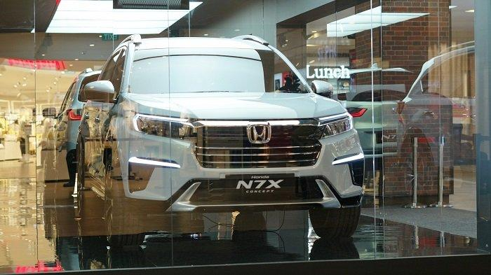 Mobil Konsep Honda N7X Curi Perhatian Warga Semarang, Hadir dalam Pameran di DP Mall