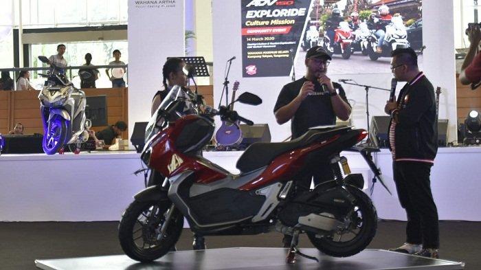 Gelar Honda Premium Matic Day di Tangerang, Wahana Honda Kenalkan Aplikasi Wanda