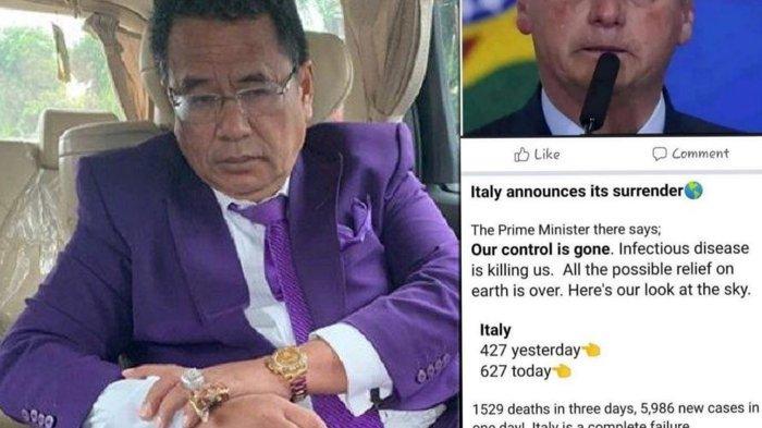 Hotman Paris Kaget Perdana Menteri Italia Nyerah Lawan Virus Corona 1529 Orang Tewas Dalam Tiga Hari