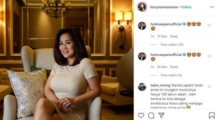 Viral dan Jadi Selebgram, Tante Ernie Heran Dapat Julukan Warganet sebagai Tante Pemersatu Bangsa