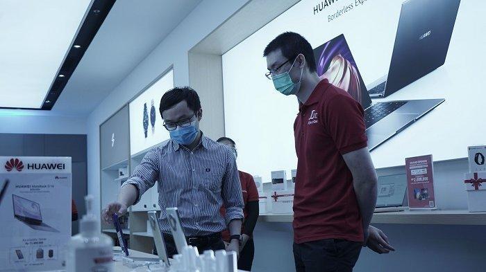 Kolaborasi denganJD.ID, Huawei Hadirkan High-End Experience Store di Lippo Mall Puri